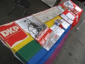Unser Infostand auf dem schwul-lesbischen Stadtfest in Berlin