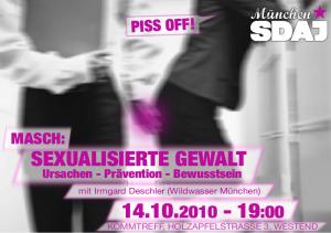 MASCH: Sexualisierte Gewalt
