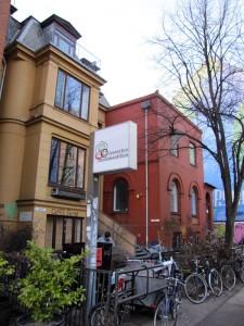 "Tagungsort ""Vesterbro Demokratiehus"" im Zentrum von Kopenhagen"
