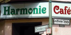 Das Café Harmonie in Berlin Schöneberg