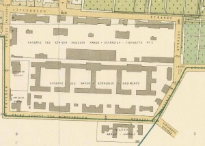 Lageplan des KZ Columbiahaus Quelle Wikipedia