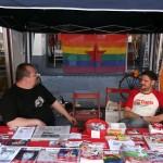 DKP queer Stand auf dem CSD Frankfurt 2013