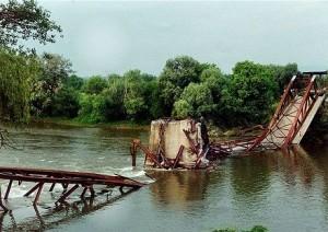 Die Brücke von Varvarin nach dem NATO Terror