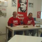 DKP queer macht EU-Wahlkampf in Augsburg