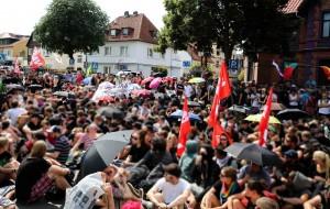 Blockade Bad Nenndorf