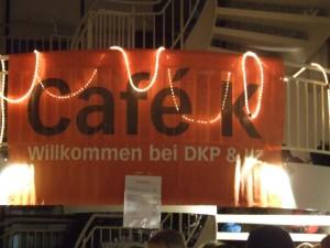 Cafe K auf der Rosa-Luxemburg-Konferenz!