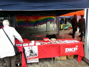 Unser Stand auf dem CSD MK.